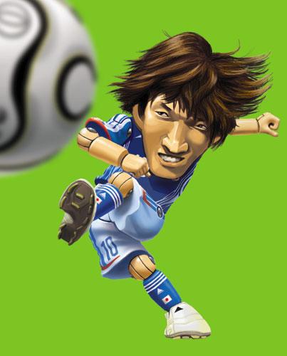 中村俊輔選手日本代表版